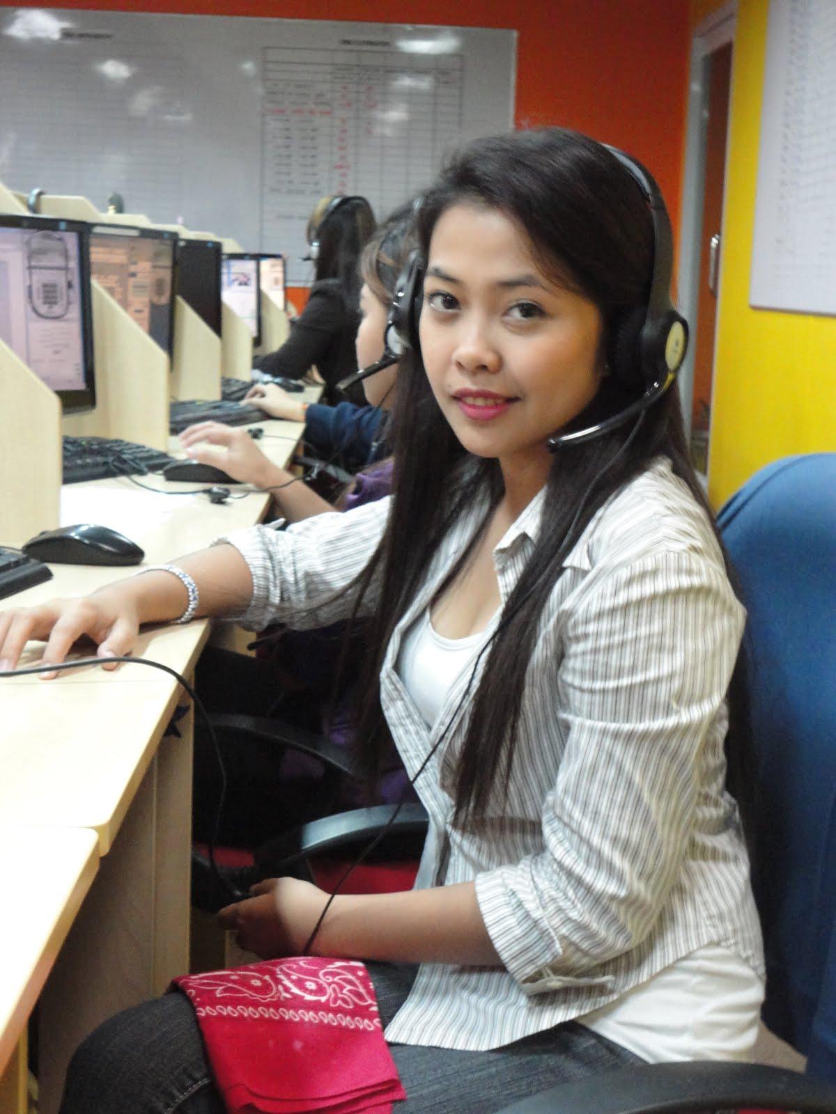 philipino telemarketer