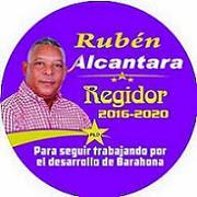 Rubén Alcantara, para seguir trabajando por el desarrollo de Barahona