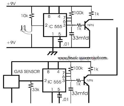 Gas Sensor Circuit
