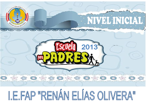 ESCUELA DE PADRES NIVEL INICIAL 2013