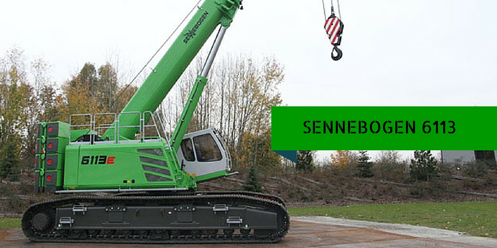Sennebogen 6113 being tested out.