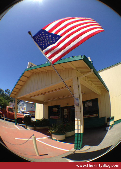 Jimtown Store, American Flag, Healdsburg, CA