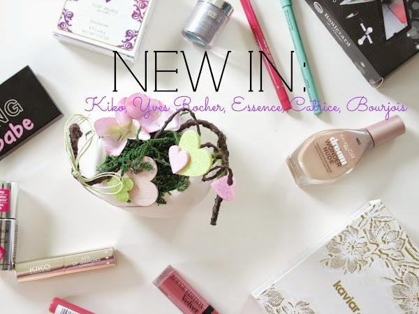 Нови придобивки |  Kiko, Yves Rocher, Essence, Catrice, Bourjois...
