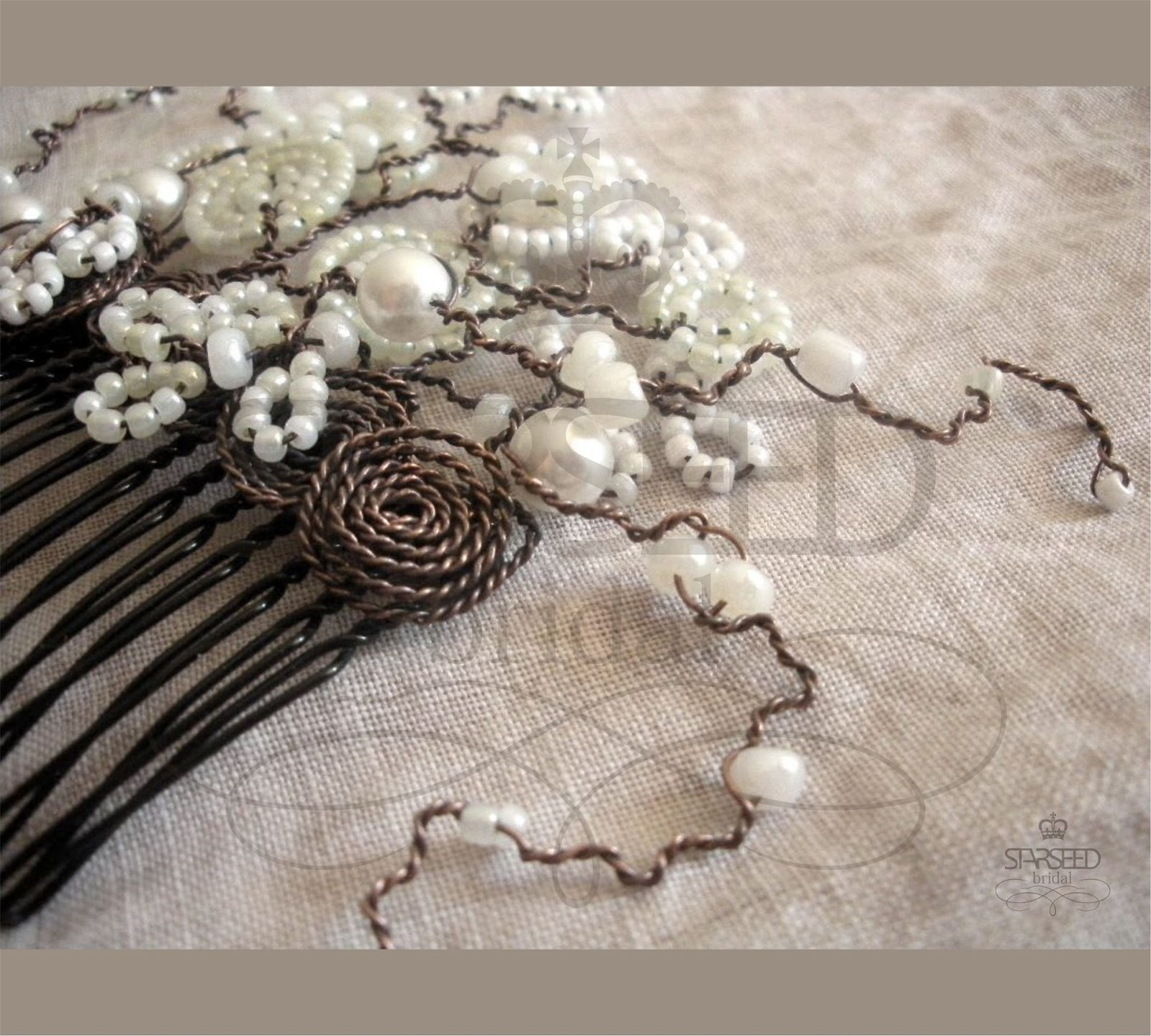 Bridal Hair Accessories Za : Starseed handmade jewelry quot bacchus line of bridal hair