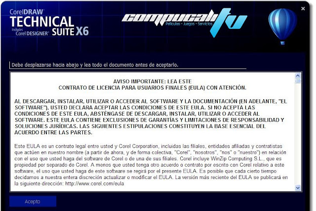 CorelDRAW Technical Suite X6 Versión 16.4.0.1280