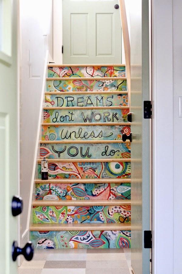 Las escaleras dentro de casa mi casa es feng for Casas con escaleras por dentro