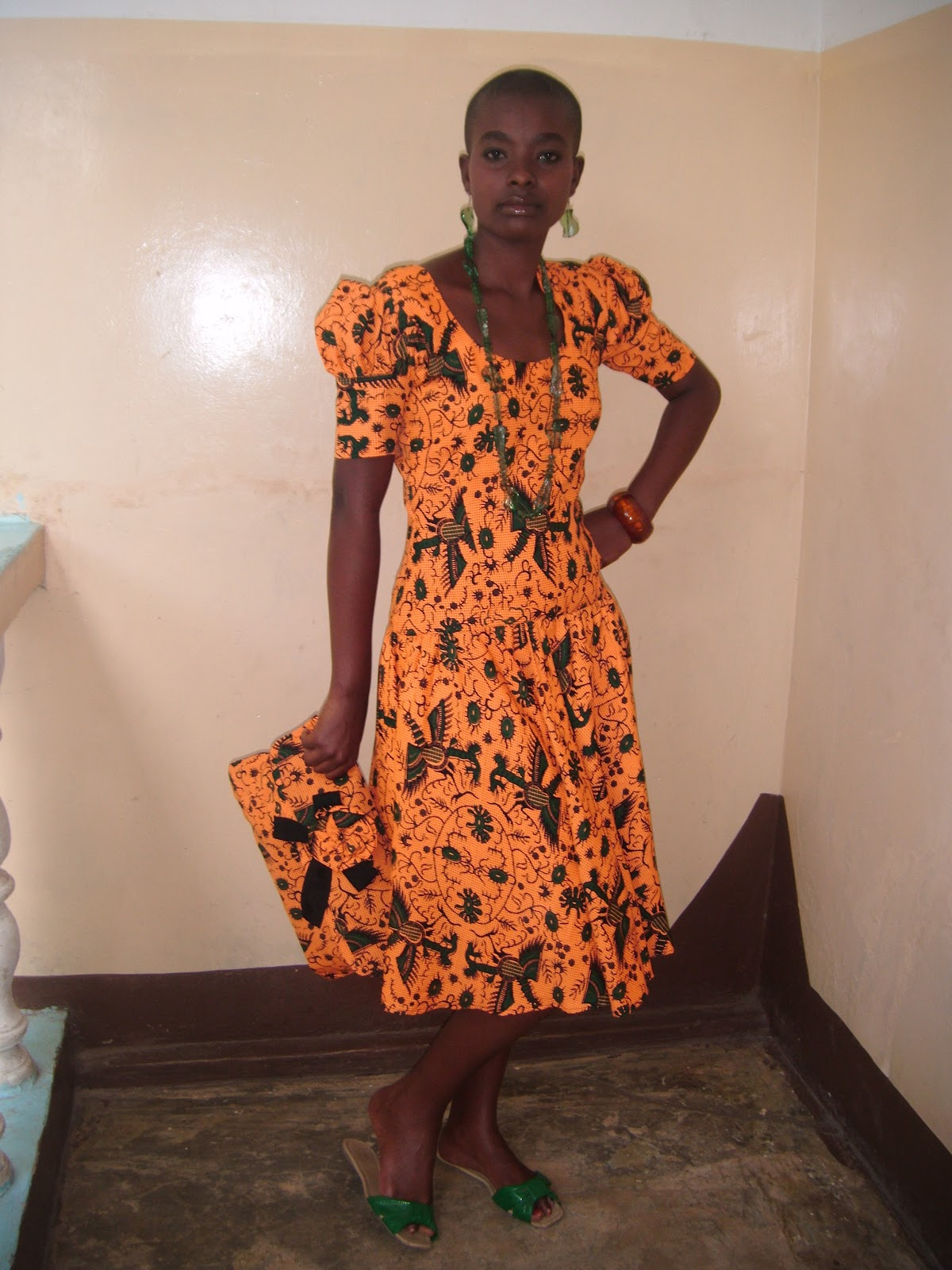 African Kitenge Dress Designs