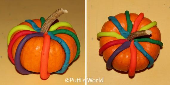 Pumpkins Play Dough