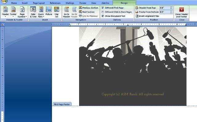Cara Menghilangkan Nomor Halaman Pertama di MS Office Word