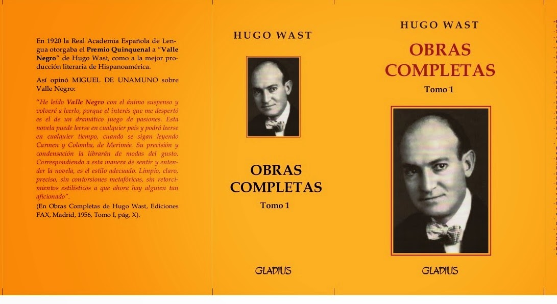 OBRAS COMPLETAS DE HUGO WAST