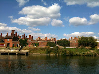 Hampton Court, as seen from the river