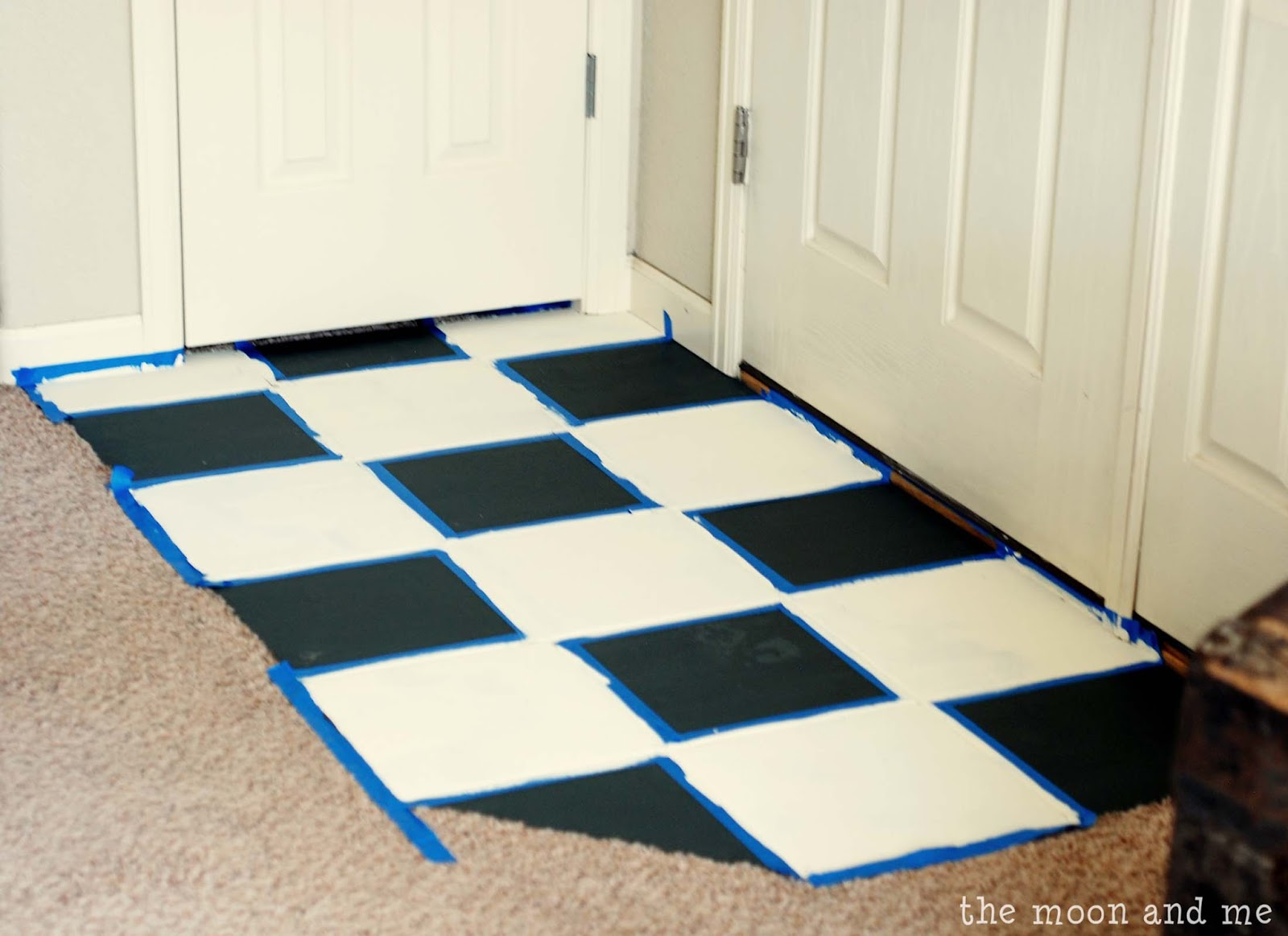 Beautiful Painting A Tile Floor ~ Tips And Grumbles