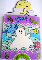 It's ghost time book.