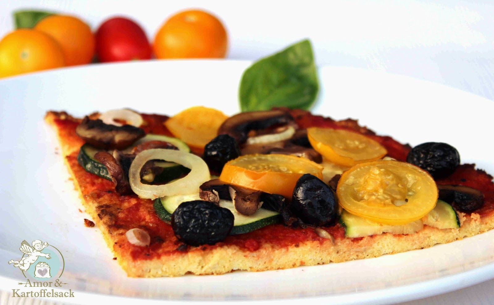 Pizza ohne Gluten