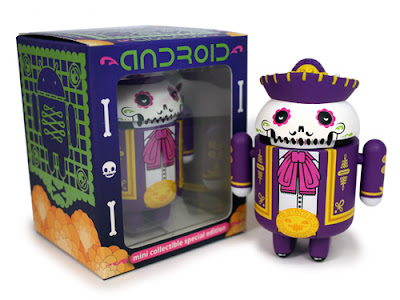 Day of the Dead Exclusive Don Pablo Calaveroid Android by The Beast Brothers