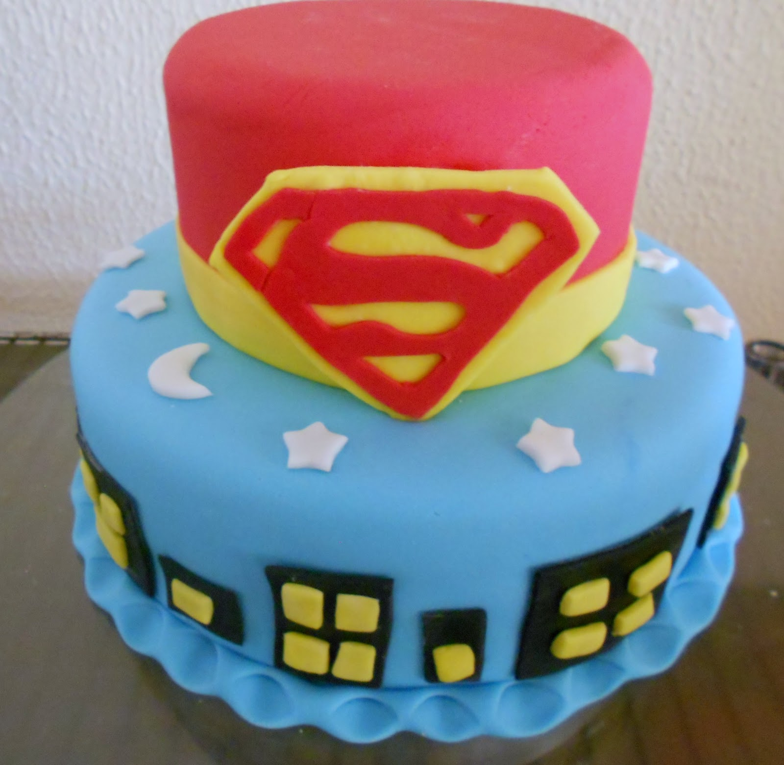 Recriando Festas Bolo Superman