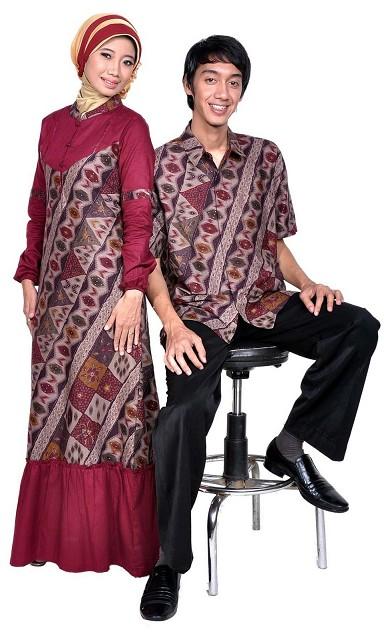 Baju+Batik+Muslim Baju Batik Muslim