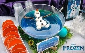 Festa de aniversário inspirada em Frozen