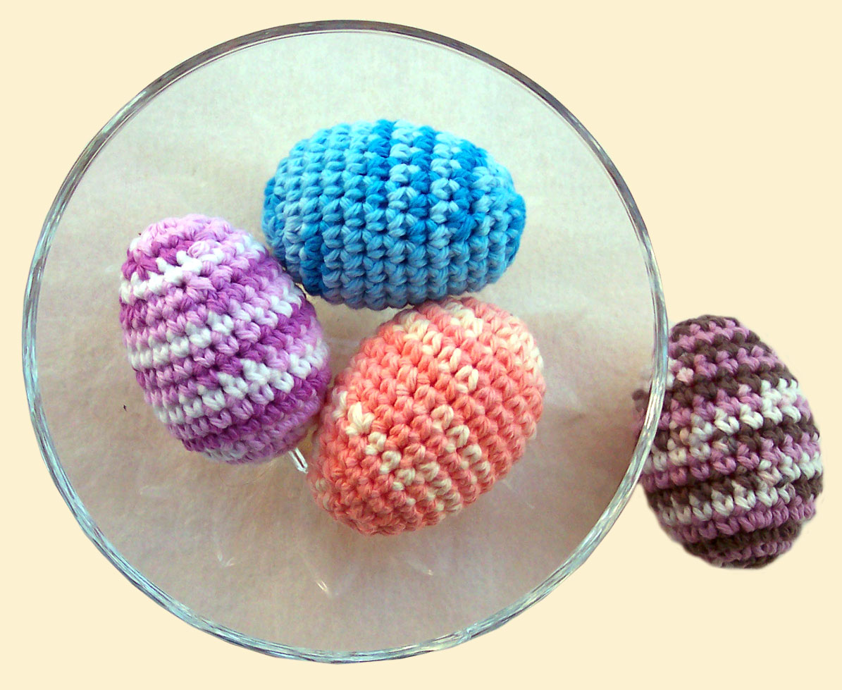 Delights-Gems: Crocheted Easter Eggs