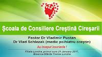 Înscrieri la Şcoala de Consiliere Creştină Cireşarii Londra