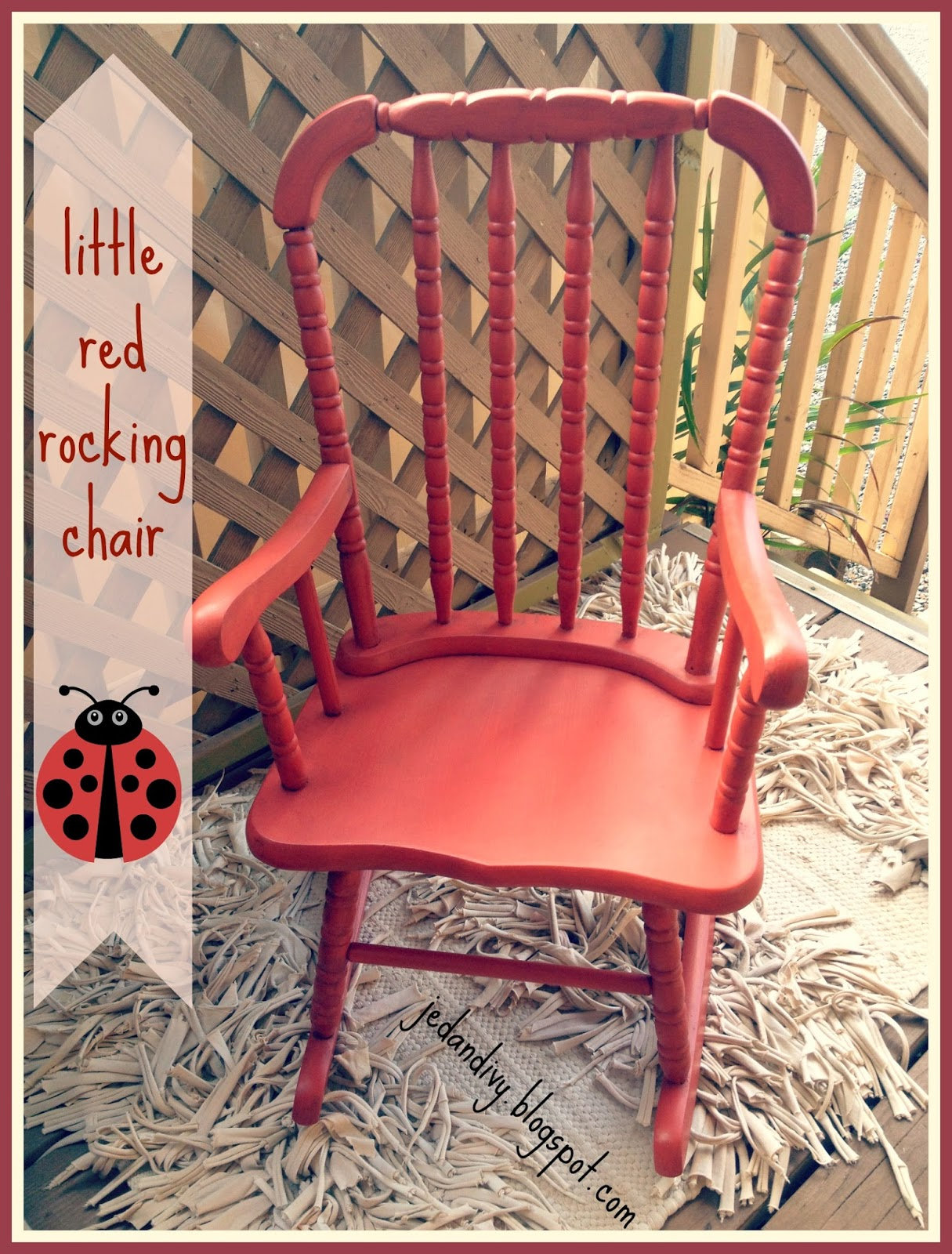 Red Rocking Chair Folk ~ Little red rocking chair ivy co