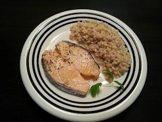 Łosoś Norweski - steki marynowane w ziołach - szybki i smaczny obiad z MyFood
