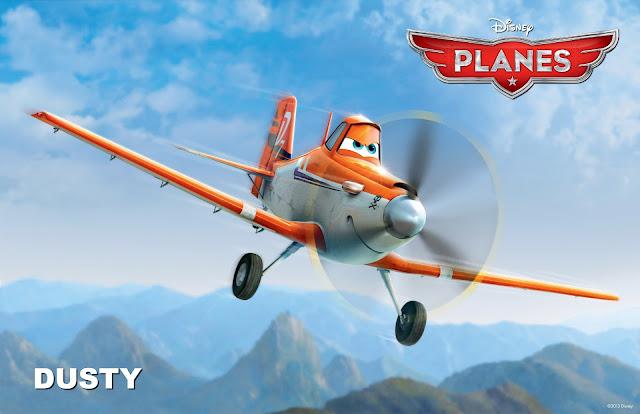 Dusty in Planes