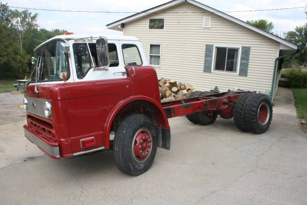 Very Rare, 1985 Ford Cabover Truck
