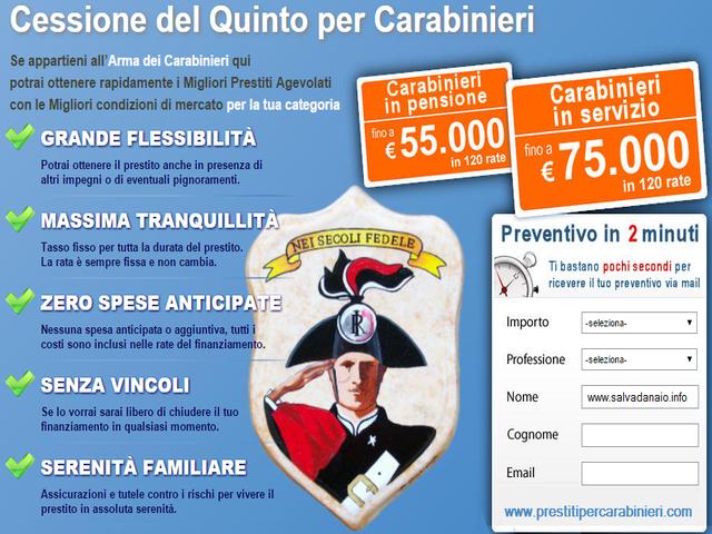 Cessione-quinto-offerte-arma-Carabinieri