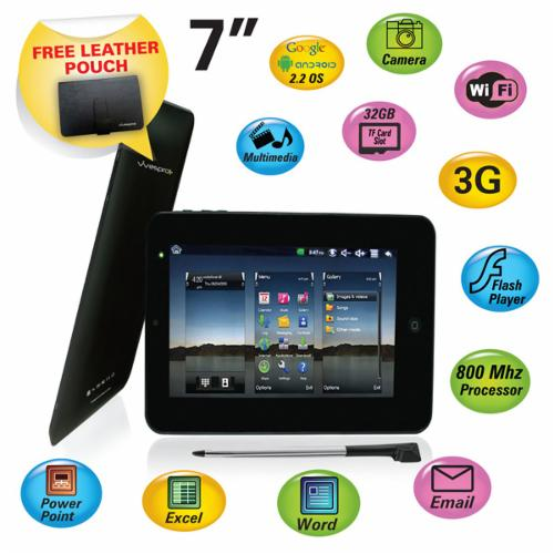 Wespro Touch Screen Tablet PC with 3G