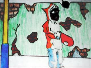 Pichador de skate (desenho)