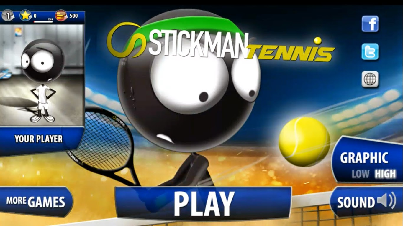 Stickman Tennis 2015 Gameplay IOS / Android