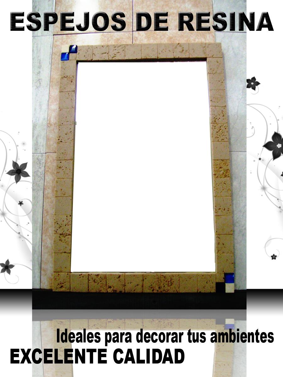 Lacaleraceramicos espejos de resina - Espejos de resina ...