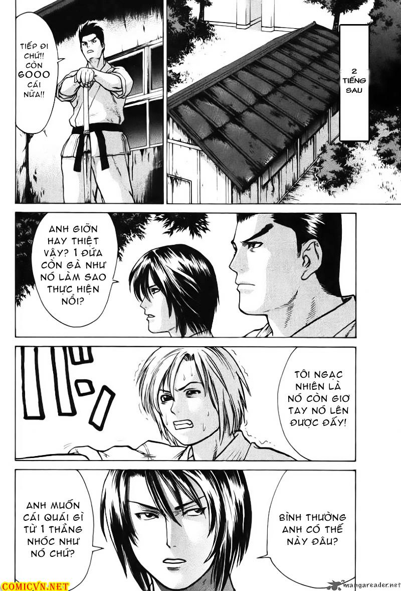 Karate Shoukoushi Kohinata Minoru chap 18 Trang 14