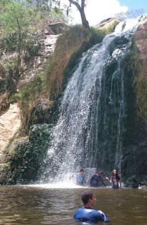 Trilha na Cachoeira