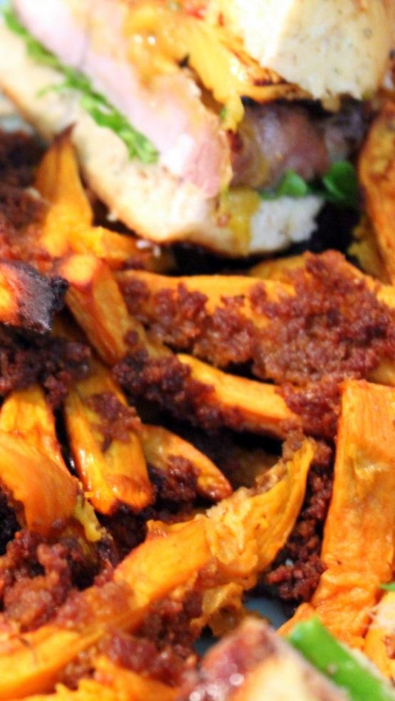 how to make crunchy sweet potato crisps