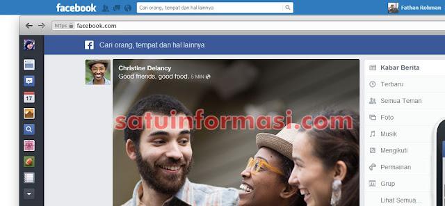 Cara Mengganti Tampilan Facebook Baru