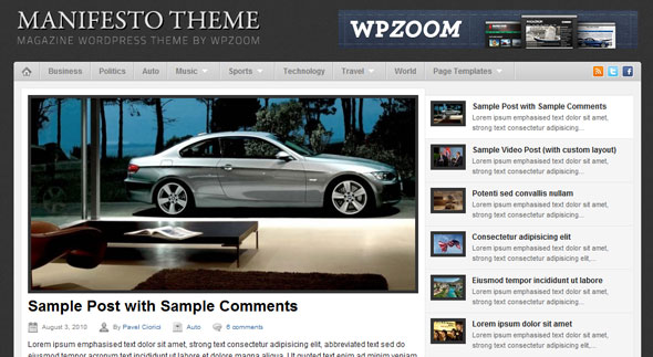 WpZooM Premium Theme Free Download