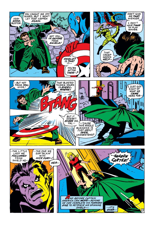 Captain America (1968) Issue #151 #65 - English 18