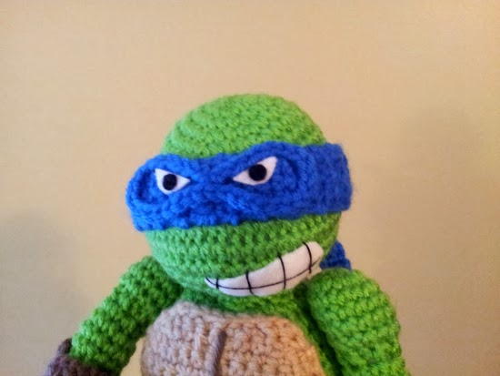 Crochet Ninja Turtle : animal-friendly eating: crochet ninja turtle