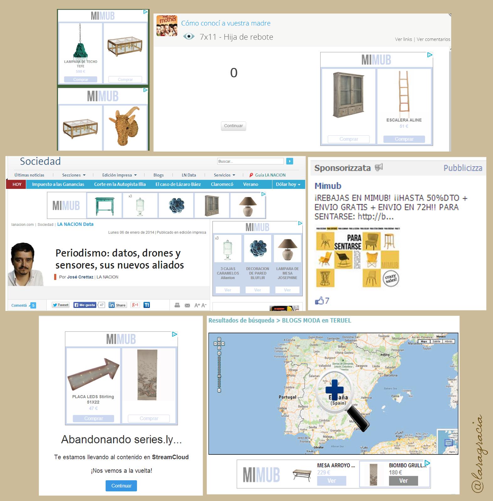Lara Gracia anuncios Google Mimub