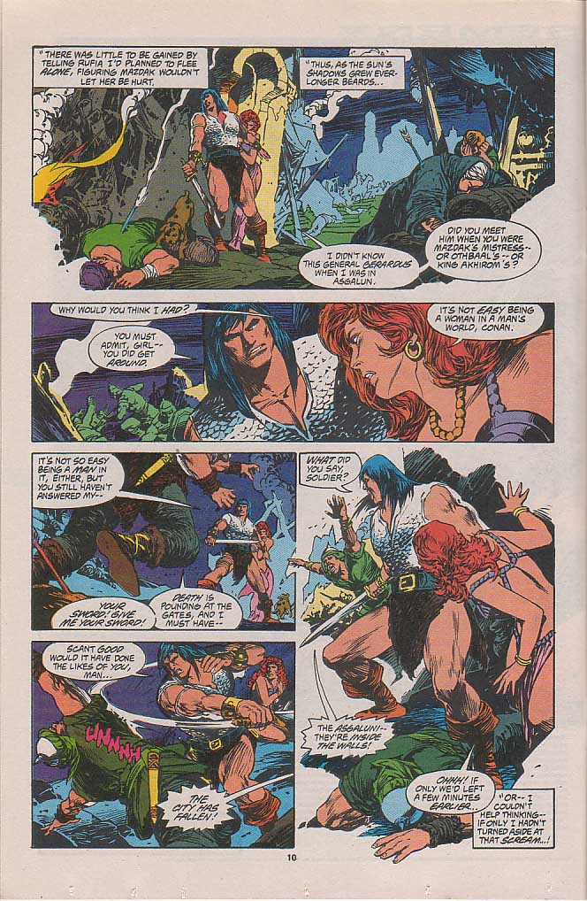 Conan the Barbarian (1970) Issue #262 #274 - English 7