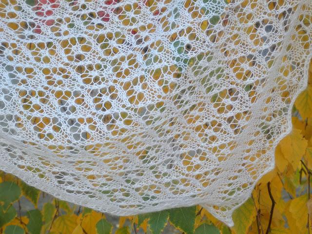 Вязание на спицах паутинки 50