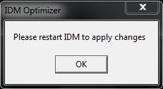 restart IDM 16 server