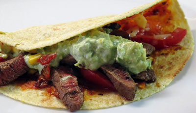 Steak Tortilla Wraps Recipe
