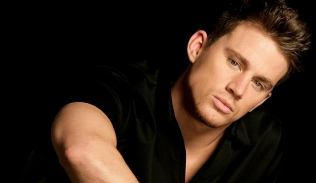 Channing Tatum In Black Shirt