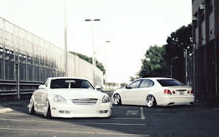 Lexus Vip Style Cars White Tuning HD Wallpaper