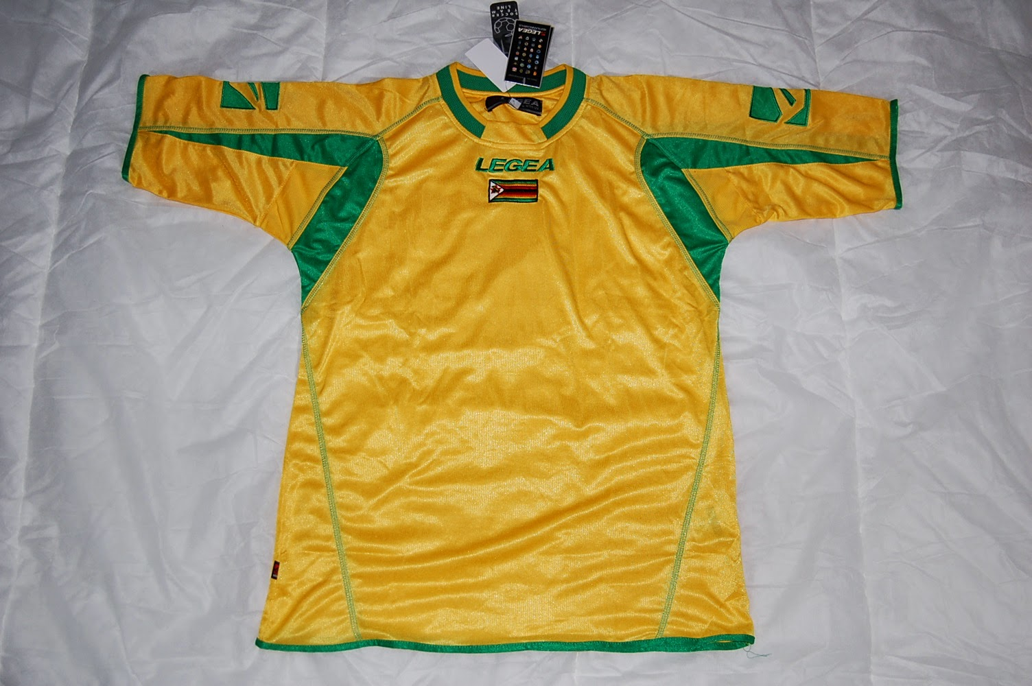 Legea Zimbabwe football shirt