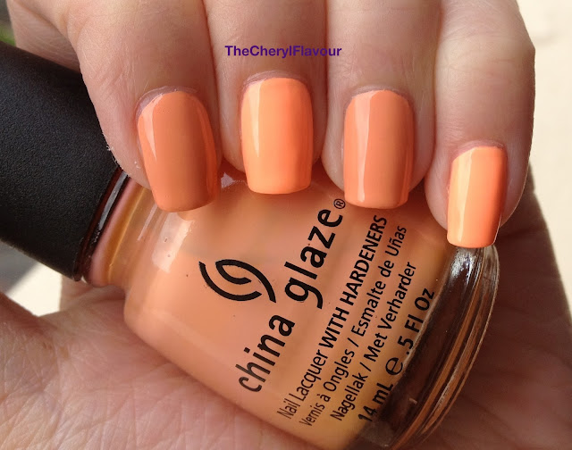 China Glaze Sun Of A Peach vs China Glaze Peachy Keen