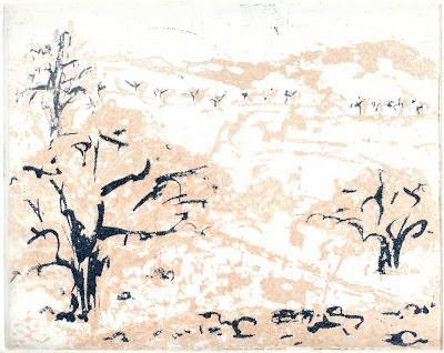 Maja-Helen Feustel: Paysage en rose, Reservage, 2 Platten, 2012